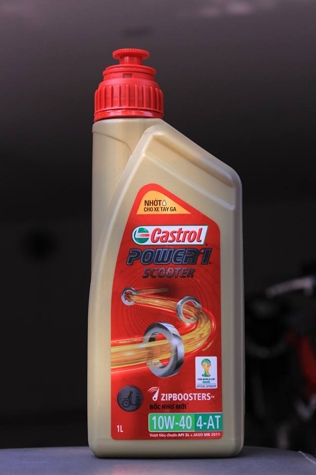Castrol power 1 scooter 1l  - 1