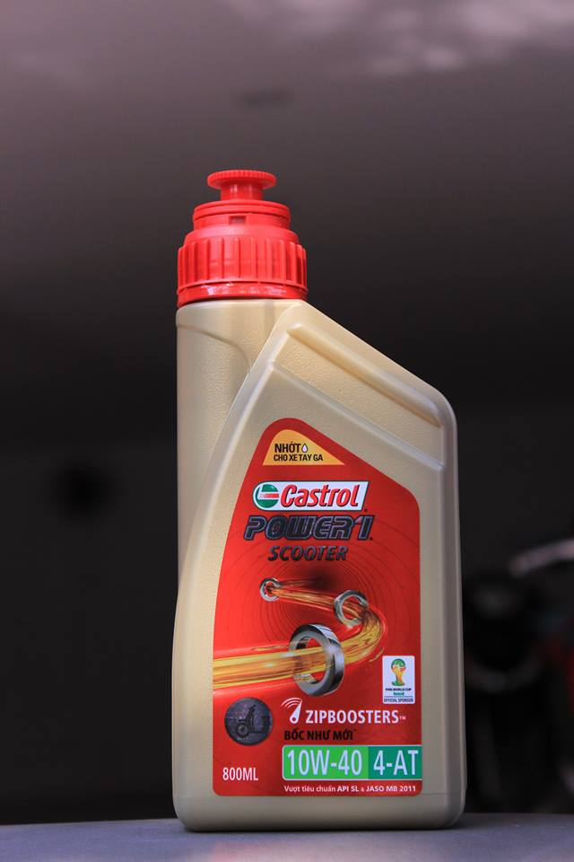 Castrol power 1 scooter 08 l  - 1