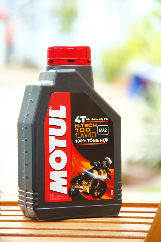 Motul h-tech 100 4t 10w40 - 1
