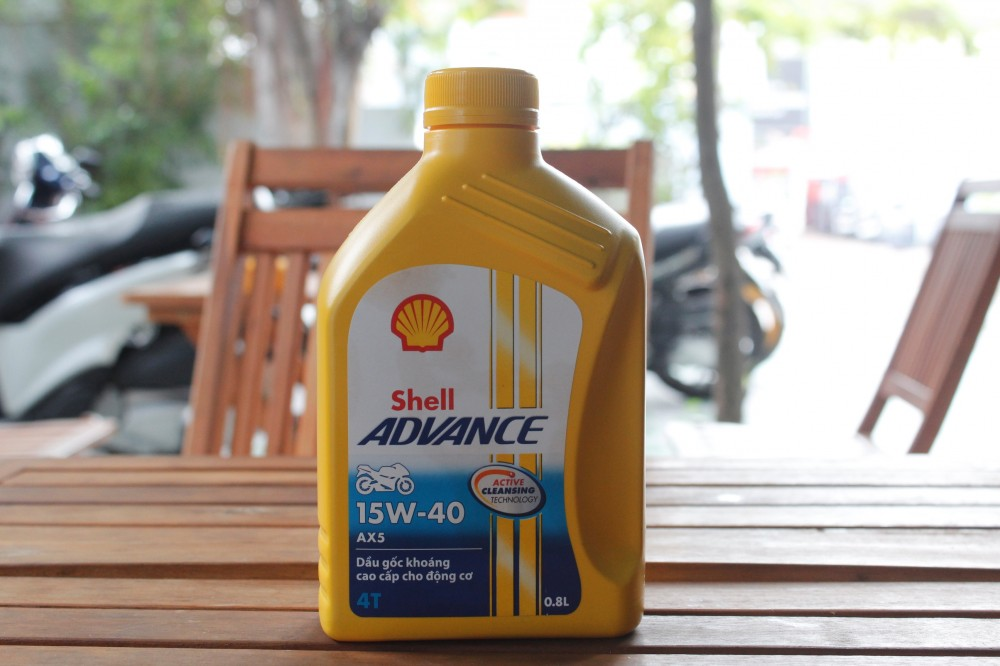 Shell advance ax5 15w40 08l - 1