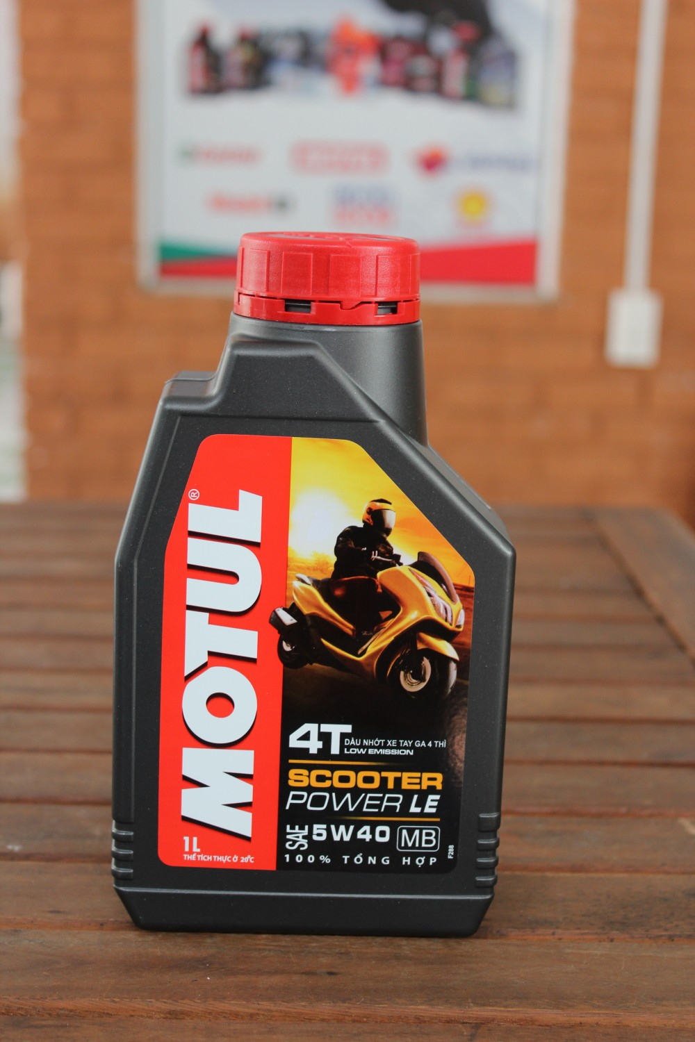Motul scooter power le 5w40 - 1
