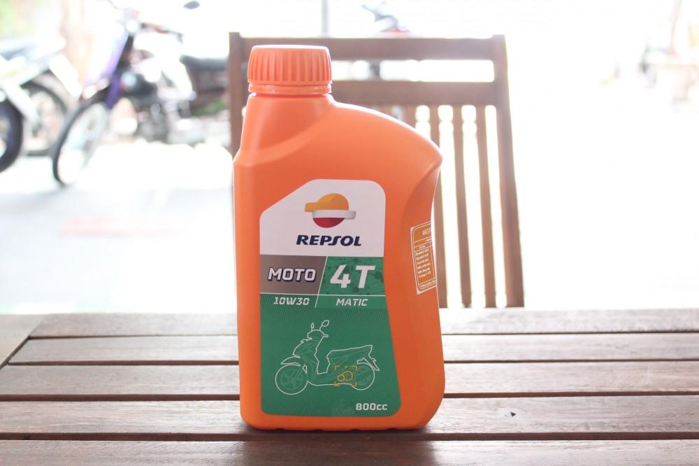 Repsol moto matic 4t 10w30 - 1