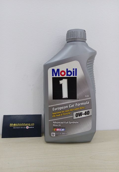 Mobil 1 synthetic 0w40 - 1