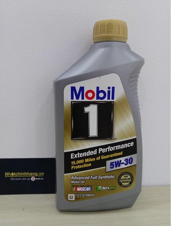 Nhớt mobil 1 5w30 gold - 1