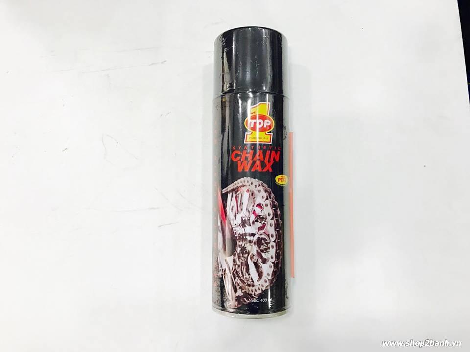 Chai xịt sên top 1 chain wax 400ml - 1