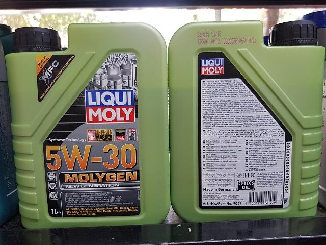 Liqui moly 5w30 molygen 1l - 1