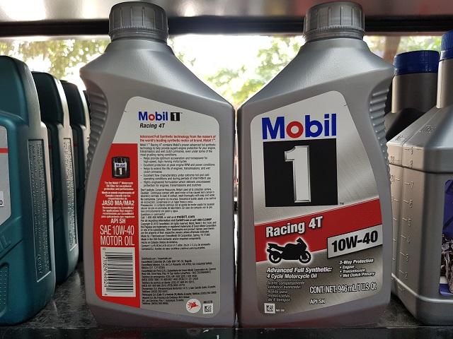 Mobil 1 racing 4t 10w40 1l - 1