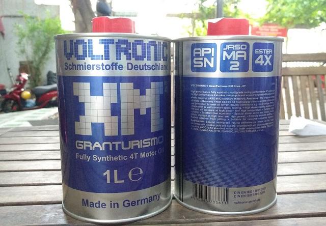 Voltronic xm blue granturismo 1l - 1