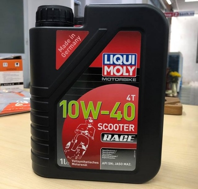Liqui moly 10w40 scooter race 1l - 1