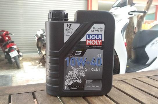 Liqui moly motorbike street 4t 10w40 - 1