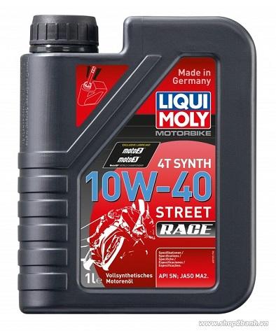 Liqui moly motorbike synth 4t 10w40 - 1