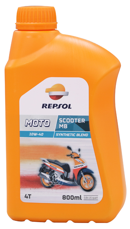 Repsol moto scooter mb 4t 10w40 - 1