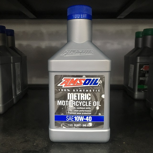 Amsoil 10w40 synthetic metric - 1
