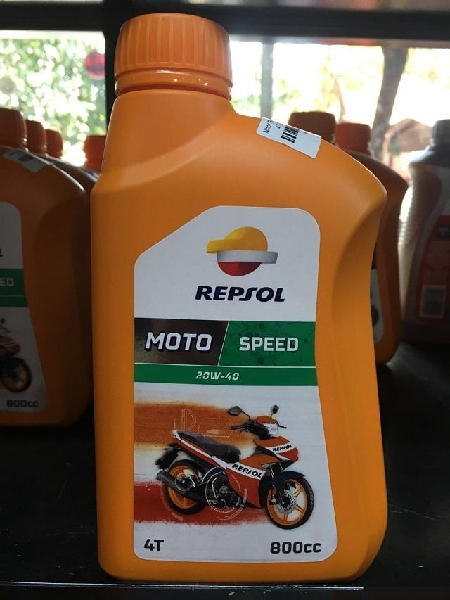 Repsol moto speed 4t 20w40 08l - 1