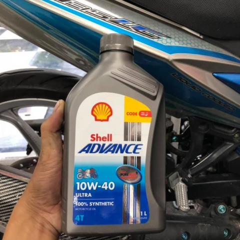 Shell advance ultra 10w40 1l - 1