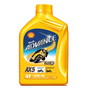 Shell Advance AX5 15W40 1L
