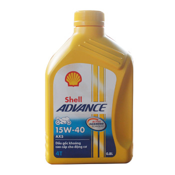 Shell Advance AX5 15W40 0.8L