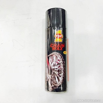 Chai xịt sên Top 1 Chain Wax 400ml