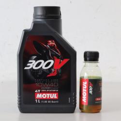 Nhớt chiết lẻ Motul 300V 10W40 (100ml)