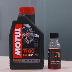 Nhớt chiết lẻ Motul 7100 10W50 (100ml)