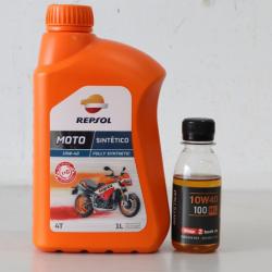 Nhớt chiết lẻ Repsol Sintetico 10W40 (100ml)