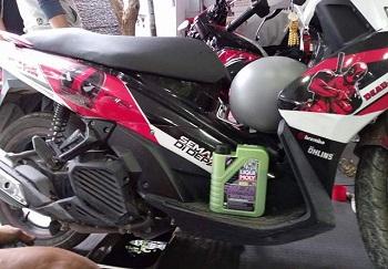Đánh giá nhớt Liqui Moly 5W40 trên Nouvo SX